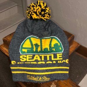 Seattle SuperSonics Mitchell & Ness Beanie